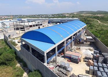 cubierta autoportante poliarkit barranquilla steel-roof colombia medellin bogota acero arco techo teja
