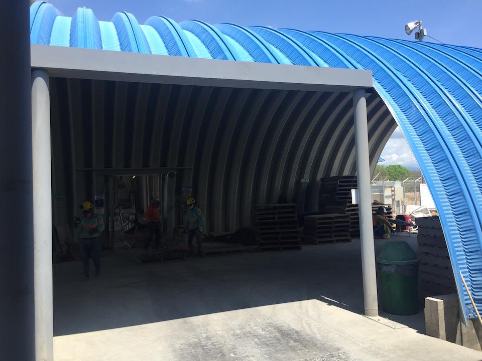 Cemento Vallenato La Paz Cesar poliarkit hangar 2