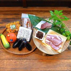 【8月】能登豚・なすび素麺
