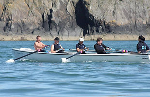 Coastal Rowing around Cardiff Bay