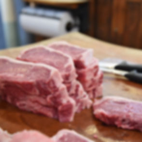 Fresh Cut Steaks - Brant's Market - Lucas, Kansas