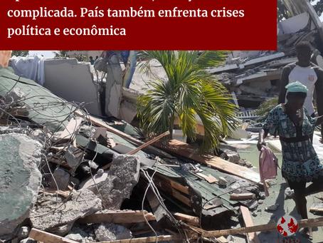 Após terremoto e ciclone, situação do Haiti é complicada. País enfrenta crises política e econômica