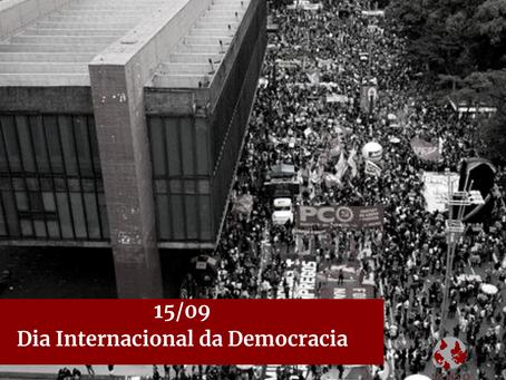 15/09 Dia Internacional da Democracia