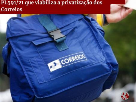 É aprovado, na Câmara dos Deputados, PL 591/21 que viabiliza a privatização dos Correios