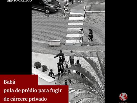 Babá pula de prédio para fugir de cárcere privado em Salvador.