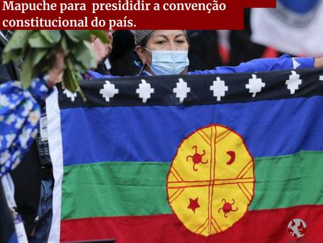 Chile elege mulher acadêmica indígena Mapuche para presidir a convenção constitucional do país