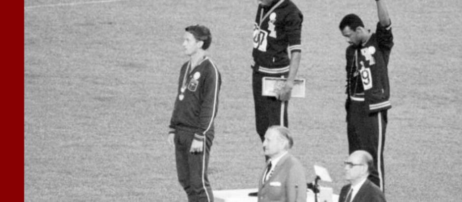 Dia 23/06 marca o Dia Olímpico. Relembramos o protesto dos atletas Tommie Smith e John Carlos