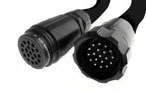 10m Socapex 2.5mm Cable