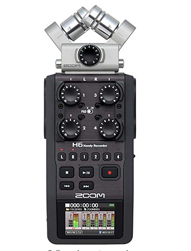 Zoom H6N Portable Recorder