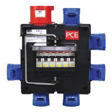 PCE IMST 32A TPNE - 6x 16A  SPNE Distro