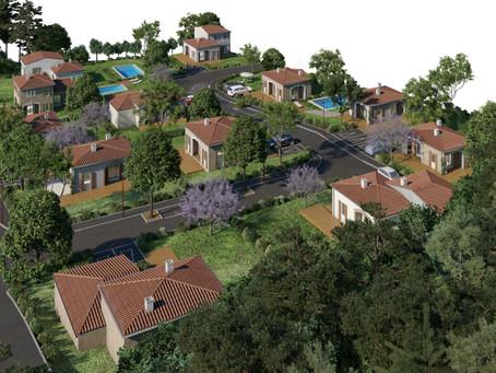 Visite virtuelle de notre futur lotissement de Clermont-l'Hérault.