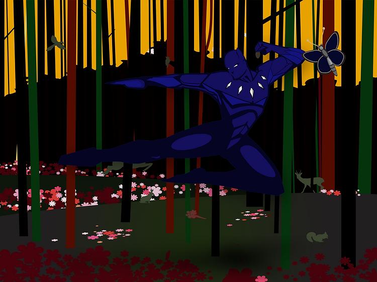 Kenneth Riley black panther