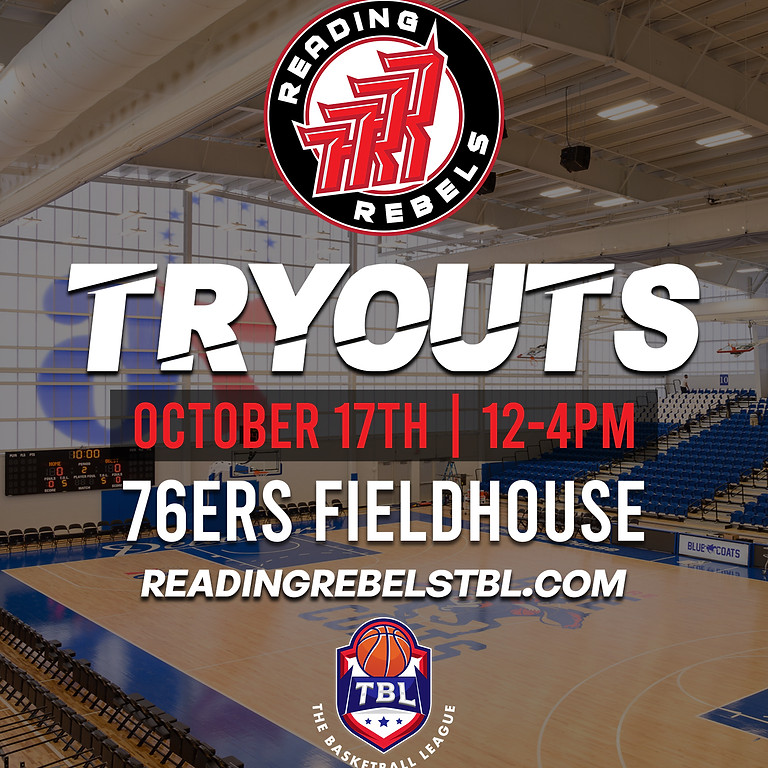 Reading Rebels TBL Tryout