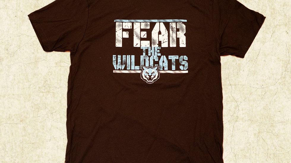 """""""FEAR THE WILDCATS"""" T-Shirt"""