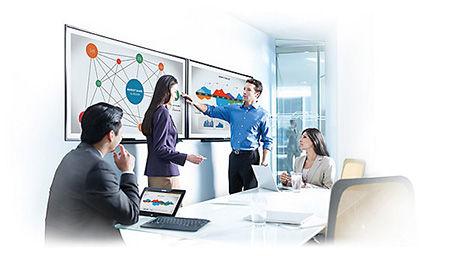 HD Displays Meeting Room