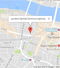 London Central Communications Map