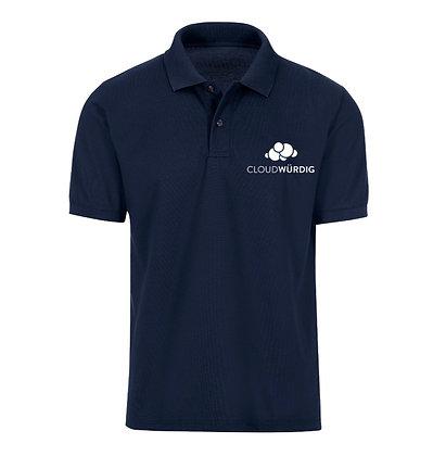 Cloudwürdig Poloshirt (m) - Trigema