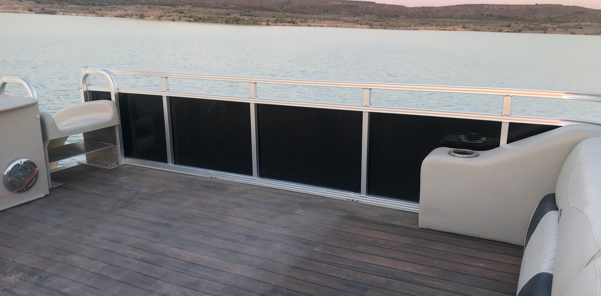 Top Deck Hang Out Area