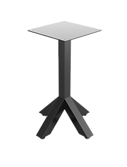 Arrowhead table frame