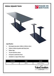 Regal Square Twin spec sheet