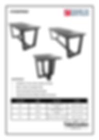 Sturditron frame spec sheet