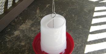 Three pound hanging feeder
