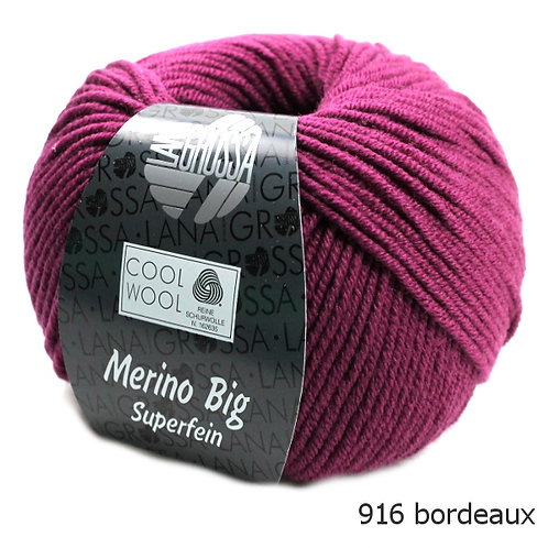Lana Grossa Wolle Cool Wool Big 916