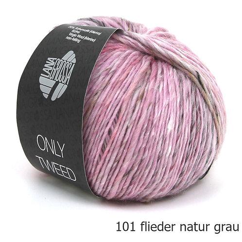 Only Tweed Fb. 101 flieder natur grau