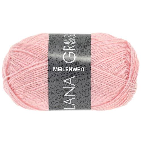 Meilenweit Sockenwolle 50g rosa