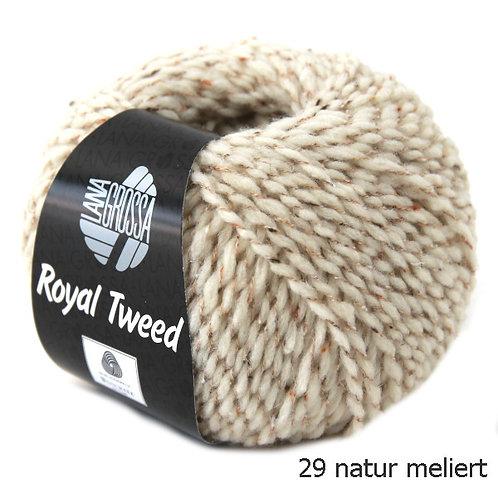 Royal Tweed Fb. 29 naturmeliert
