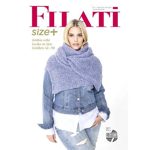 FILATI size+ Nr.1 Titelseite