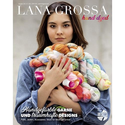 Hand-Dyed No. 1 Strickzeitung von Lana Grossa Titelseite