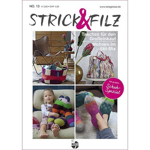 STRICK & FILZ No.13 Titelseite