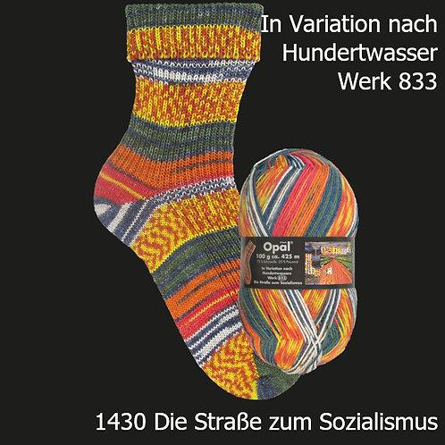 Sockenwolle nach Hunderwasser 4-fädig 1430