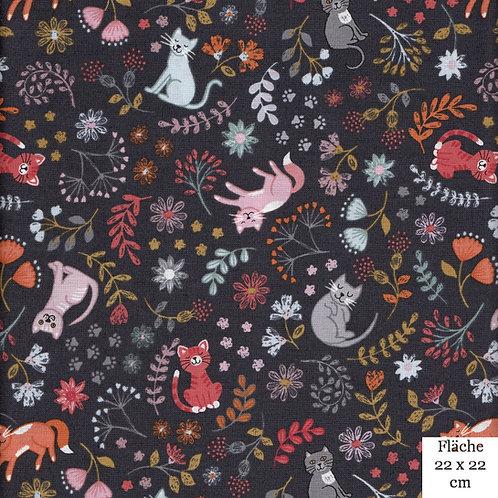 Katzen dunkler Hintergrund Fb. 324