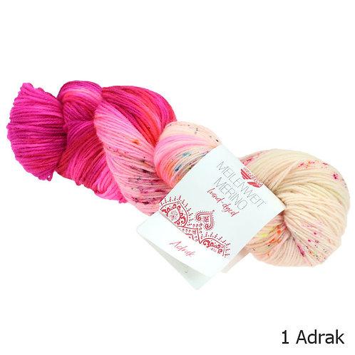 Meilenweit Merino Hand-dyed 1 Adrak