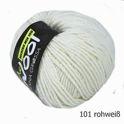 Mc Wool Merino Mix 100 rohweiß 101