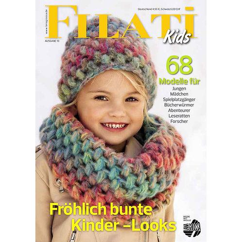 FILATI Kids Nr.10 Titelseite Häkelloop Tutti