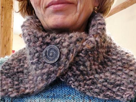 Loop stricken mit Brigitte No.2 Tweed
