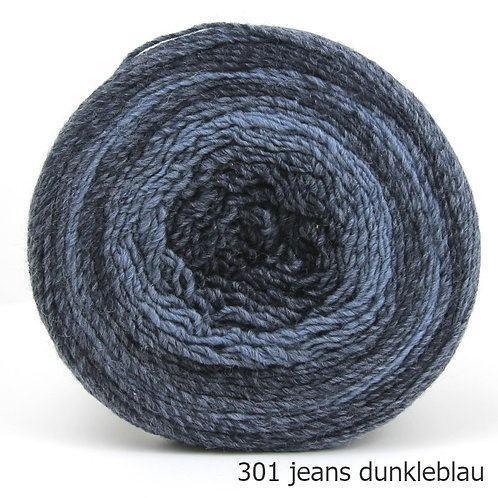 Gomitolo Degrade Fb. 301 jeans dunkelblau