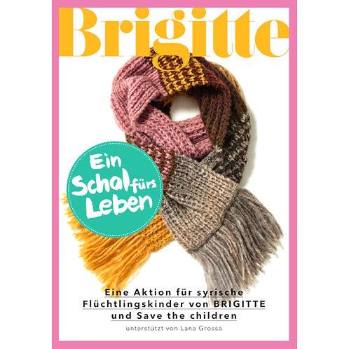 Schal fürs Leben 2017 Brigitte
