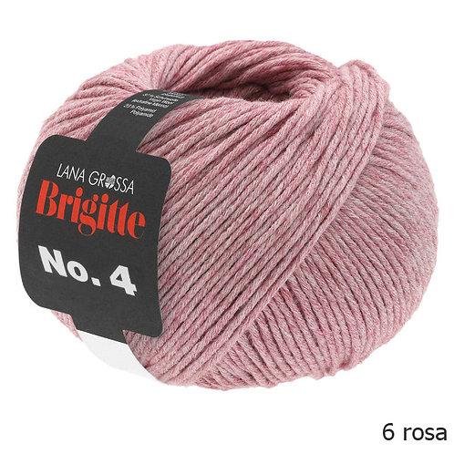 LANA GROSSA Brigitte No.4 rosa Fb. 6