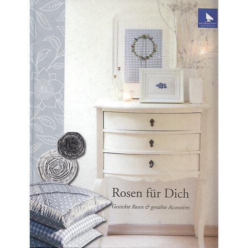 Rosen für Dich Stick- und Nähbuch acufactum