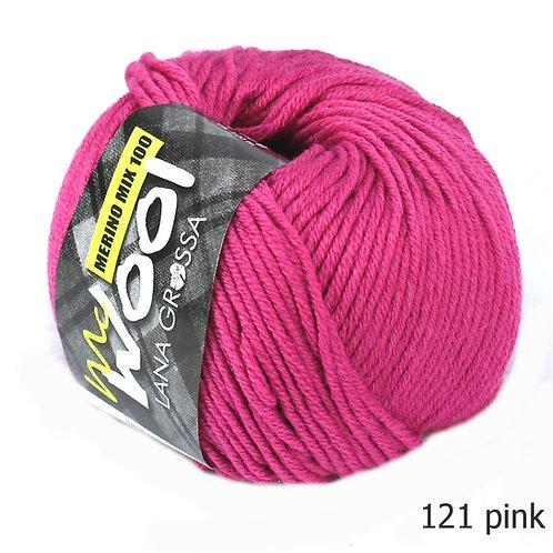 Mcwool Merino Mix 100 pink 121