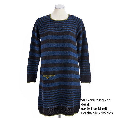 Strickanleitung Kleid Wohlgefühl für Geilskwolle