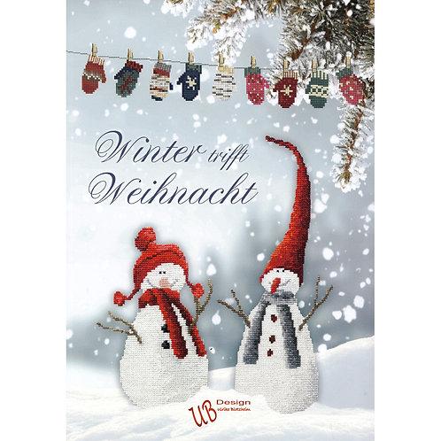 Kreuzstichbuch Winter trifft Weihnacht
