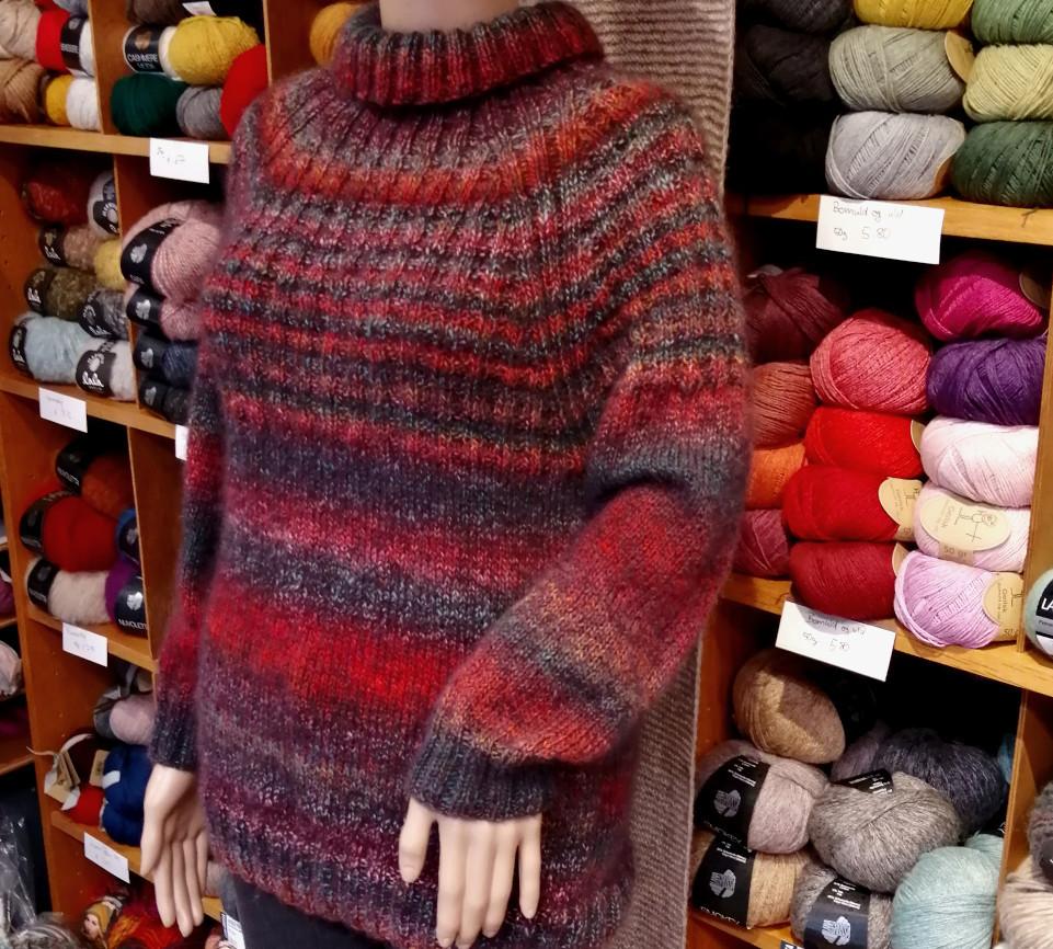 Raglanpulli Lana Grossa Wolle