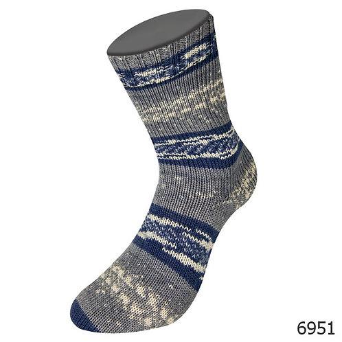 Meilenweit Freya 6951 Sockenwolle von Lana Grossa