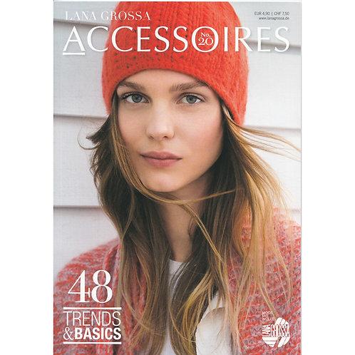 Accessoires 20 Lana Grossa Strickheft