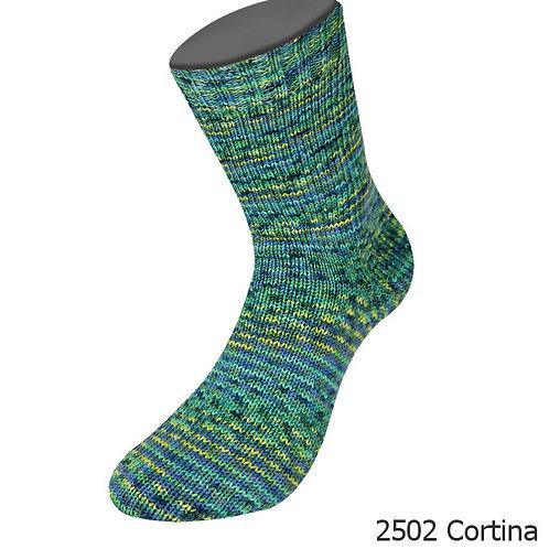 Sockenwolle Meilenweit Merino Cortina 2502
